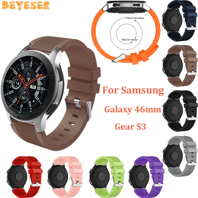 Sport silicone band For Samsung Gear S3 Frontier wristband replacement Smart accessory For Xiaomi Huami Amazfit 2/2S Watch strap