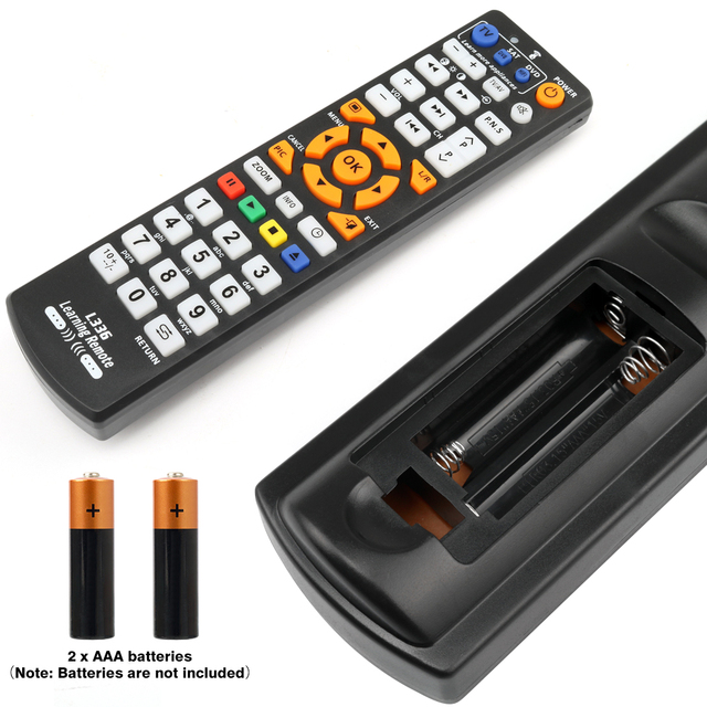 Universal Smart IR Remote Control with learn function, 3 pages controller copy for TV STB DVD SAT DVB HIFI TV BOX, L336 3