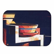 Elegante Stile di Bellezza Zerbino Pavimento Impermeabile Zerbino antiscivolo Tappeto Camera Da Letto Cucina Wc Tappeto Decorativo Per La Casa Porta Zerbino 40x60cm ..