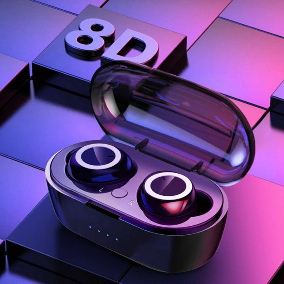 Bluetooth 5.0 무선 이어폰 핸즈프리 스포츠 헤드셋 무선 헤드셋 Bluetooth 이어폰 헤드셋