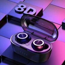 Bluetooth 5.0 אלחוטי אוזניות דיבורית ספורט אוזניות אלחוטי אוזניות Bluetooth אוזניות אוזניות