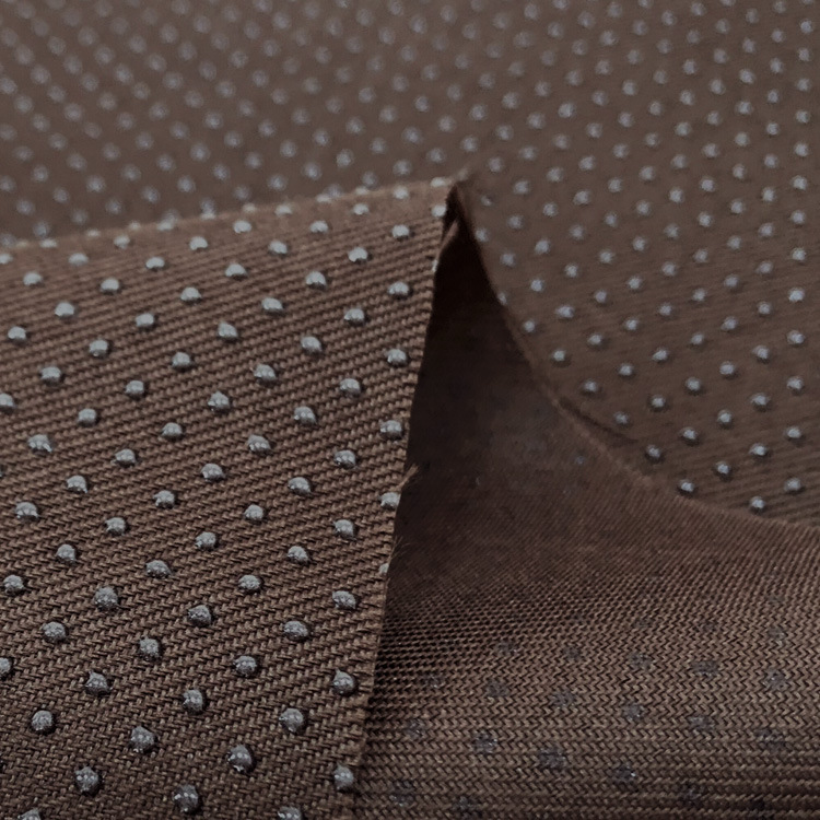 Белая противоскользящая виниловая ткань для аксессуаров на подушку, нескользящая ткань, противоскользящая, кофейная, черная, синяя, по метр...