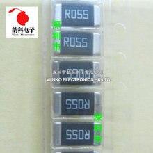 50 Uds 2512 2W 1% 0.05R 100mR R05 de película de Metal bajo ohmico chip de baja TCR resistencia