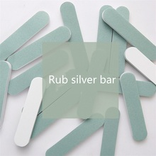 1pcs/pack high quality Silver care Rub silver bars Both sides polishing tool Jewelry cleaning tools