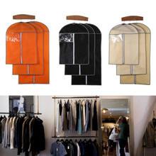 Чехол для домашнего хранения, Защитная сумка для одежды, костюма, платья, пальто, куртки, чехлы для путешествий, одежда из нетканого материал...