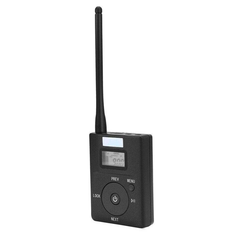 Radio stéréo Portable Mini rapide FM émetteur 3.5mm Aux adaptateur de diffusion sans fil Support TF carte pour MP3 PC CD faible puissance - 2