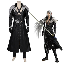 Anime Final Fantasy Cosplay Costumes Sephiroth Cosplay Costume Uniforms Halloween Party Game Cosplay Costume Customized Unisex цена и фото