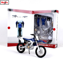 Maisto 1:12 12 styles Yamaha YZ450F assembled alloy motorcycle model assembled DIY toy tools Collecting gifts maisto 1 12 ducati 696 assembled alloy motorcycle model motorcycle model assembled diy toy tools