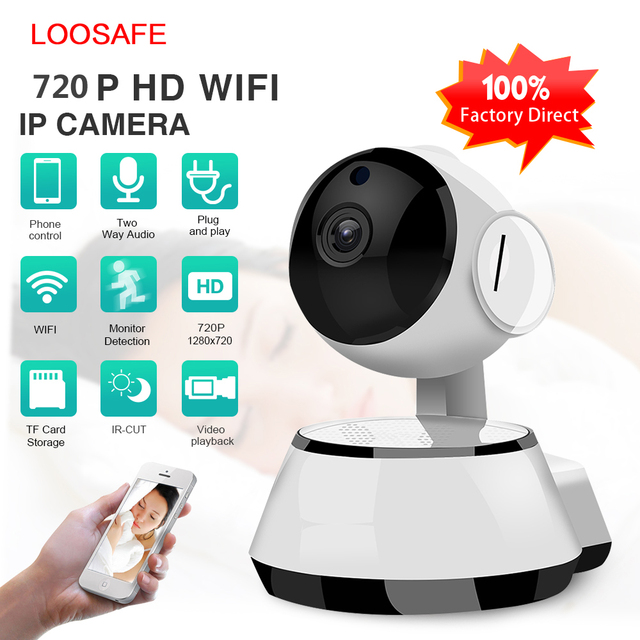 Home WiFi Security IP Camera Wireless Cheap Camera WI FI Audio Record IR Cut Night Vision Surveillance HD Mini CCTV Camera