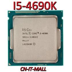 Getrokken I5-4690K Cpu 3.5G 6M 4 Core 4 Draad LGA1150 Processor