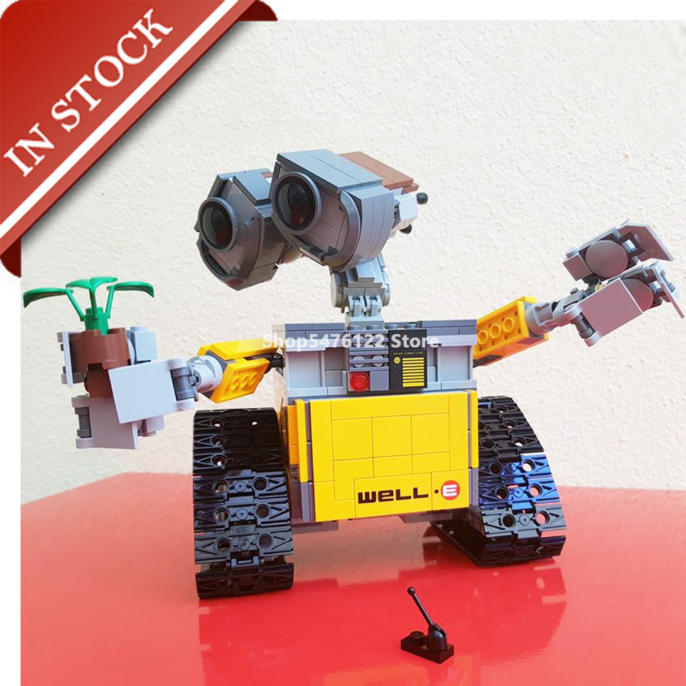 Star Series Wars Wall E <font><b>21303</b></font> 16003 In Stock Building Block 670+Pcs Bricks Ideas Toy Movie Model 39023 83003 11003 Kit Gift Set image