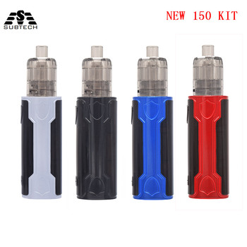 Electronic Cigarette 150W Box Mod with 2ml Vape Tank built in 2200mAh Battery  Battery Starter Kit 510 Thread  SUB TWO original ehpro 2 in 1 fusion 150w tc kit max 150w w fusion mod