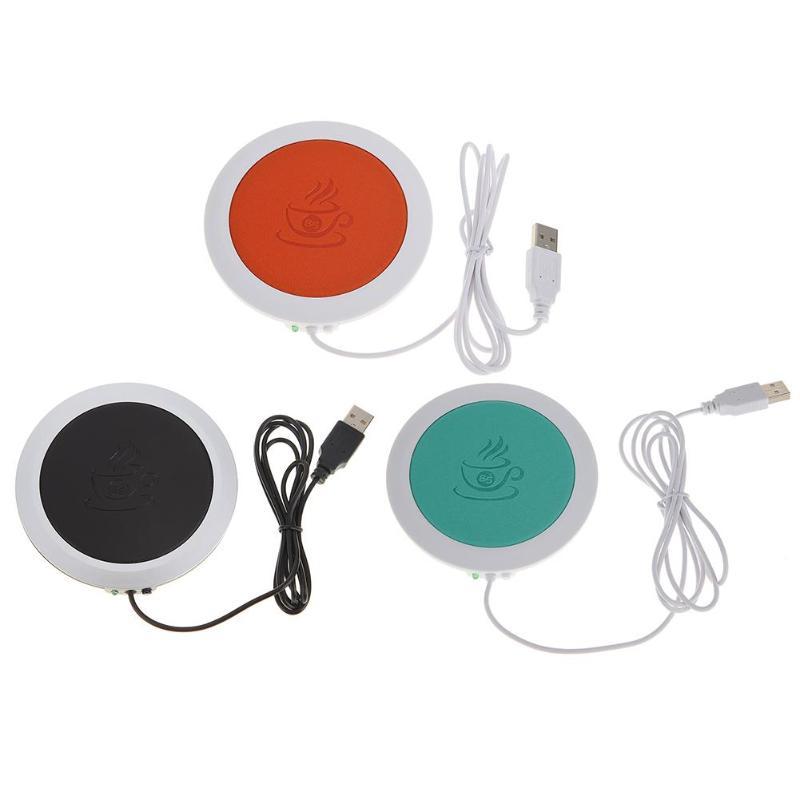 PU Heat-resistant Electric Insulation Coaster USB Warm Cup Mat Warmer Pad