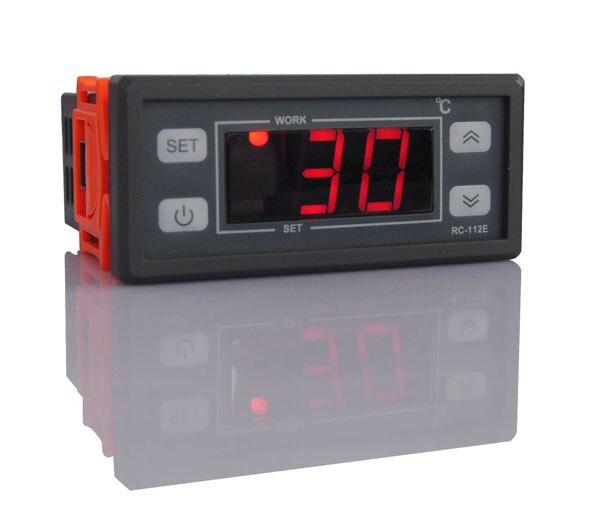 Relay Output 250V 30A 10a 12V 24v 110v 220v Powe Microcomputer Thermostat With Sensor
