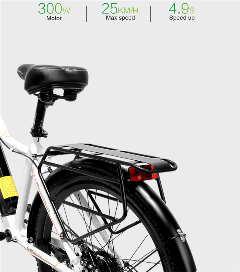 Best 26inch Electric mountain bike 36V lithium battery travel electric bicycle lighweight Ebike 3