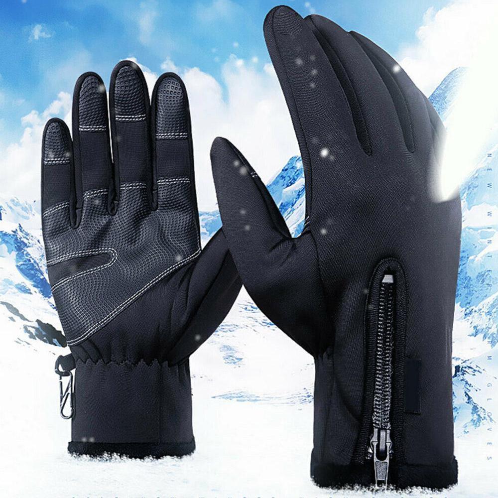 Купить перчатки для мотокросса флисовые ветрозащитные и теплые сенсорные