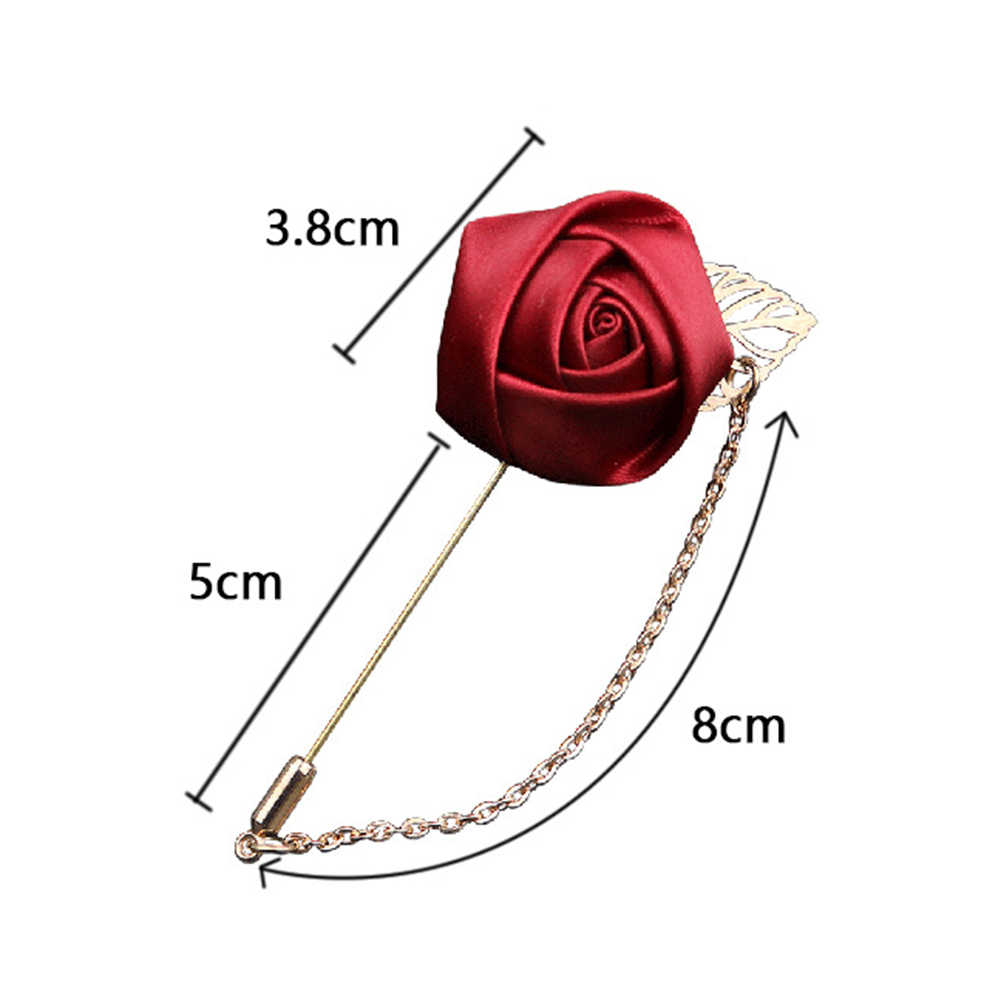 Damskie futro piłka pomponowa pereł materiał kwiat broszka Pin sweter koszula szal Pin profesjonalnego płaszcz odznaka biżuteria akcesoria