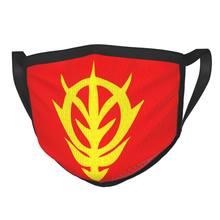 Máscara lavable Unisex de majality Of Zeon, traje móvil de Anime Gundam, mascarilla de protección facial, respirador, mufla bucal