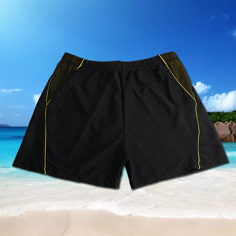 Le Yong Style New Style Trend Mixed Colors Swimming Trunks Extra-large MEN'S Swimming Trunks Lard-bucket-Pool Hot Springs Swimmi