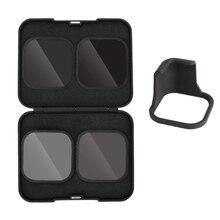 GoPro Hero için 8 kamera siyah aksesuarları CPL ND8 ND16 ND32 optik cam filtre
