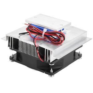 Image 4 - 50W DIY Thermoelectric Cooler קירור מערכת קירור מוליכים למחצה מערכת ערכת צלעות קירור למעבד עבור 15L מים