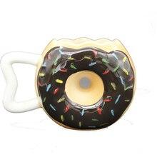 Creative 3D stereoscopic Donut Ceramics Mugs coffee mug Milk Tea office Cups Drinkware the Best birthday Gift with gift Box