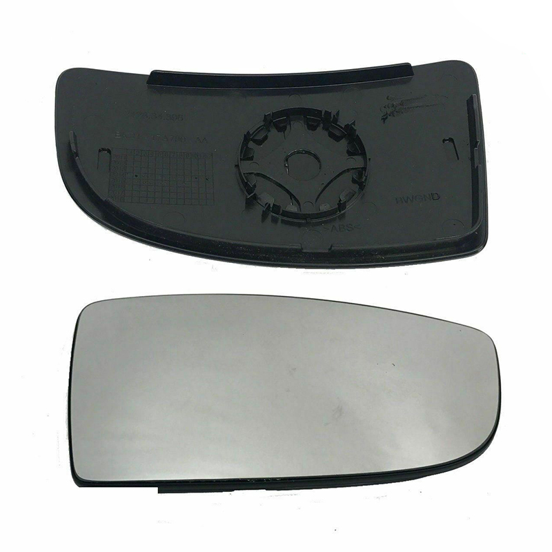 Left Passenger side Wing door mirror glass for Ford Fiesta 2008-17 heated