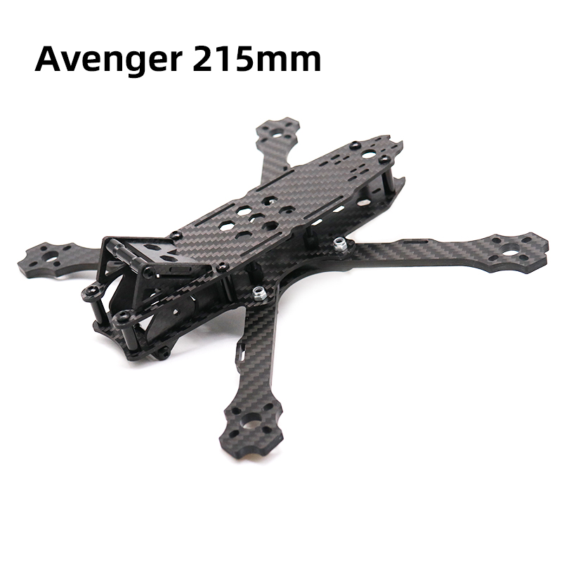 Image 5 - TCMMRC 5 Inch FPV Drone Frame Avenger 215 Wheelbase 215mm 4mm Arm Carbon Fiber for RC Racing FPV Drone Frame Kit-in Parts & Accessories from Toys & Hobbies