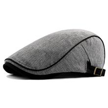 Beret-Caps Newsboy-Cap Spring Autumn Cotton Summer Man And Male Thin 55-61cm Ivy-Hat