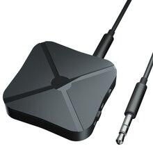 2 في 1 سماعة لاسلكية تعمل بالبلوتوث 4.2 استقبال الصوت الارسال التلفزيون سماعة المنزل MP3 PC 3.5 مللي متر محول بلوتوث