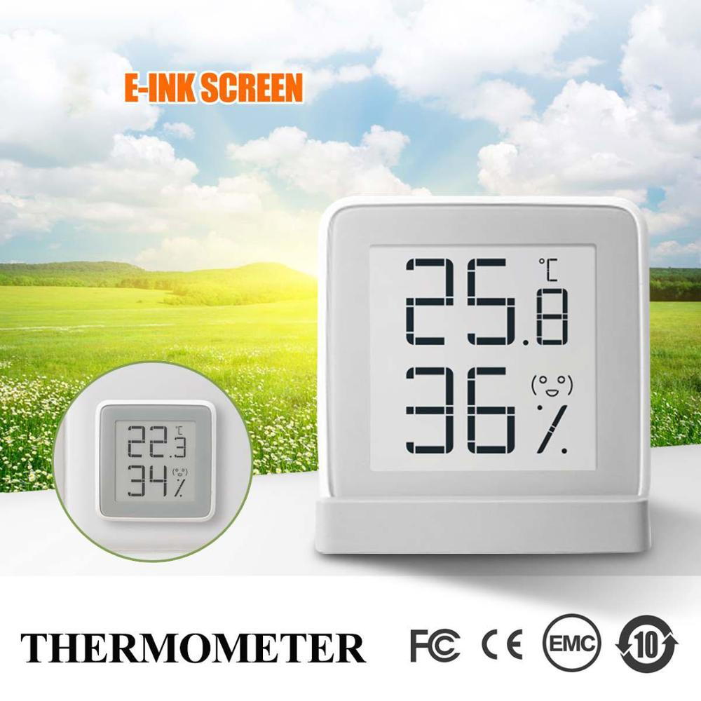 Mijia MiaoMiaoCe E-Link INK Screen Display Digital Moisture Meter High-Precision Thermometer Temperature Humidity Sensor