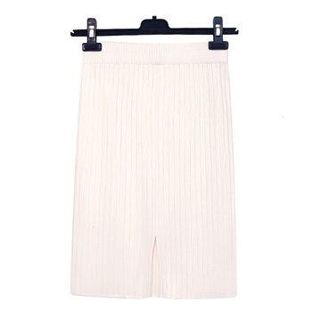 RICORIT Elastic Band Skirt Women Winter Knitted Skirt Female Straight Ribbed 50-70cm Mid-length Skirts 10 Multiple Color 5