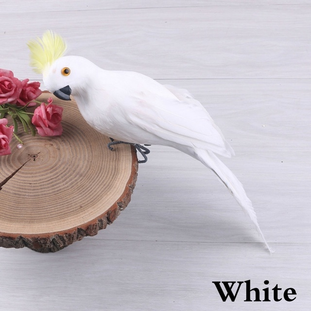 Realistic Highly Detailed Bird Ornaments For Home & Garden 4