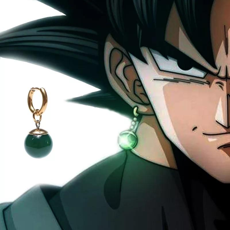 SC Anime Yellow Green Dragon Ball Z Potara Cosplay Drop Earrings DragonBall ZORO Eardrop Earrings Jewelry For Women Girls Gift Ямча