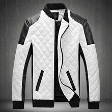 2020 Mens מעילי עור מזדמן באיכות גבוהה קלאסי אופנוע אופני מעיל גברים בתוספת עבה מעילי האביב/סתיו chaqueta hombre