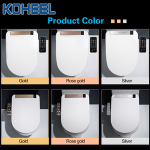 Image 5 - KOHEEL LCD 3 Color Intelligent Toilet Seat Elongated Electric Bidet Cover Smart Bidet Heating Smart Toilet Seat