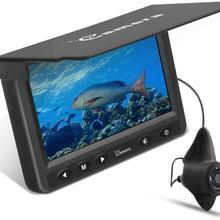 """4,"""" Подводная рыболовная камера портативный рыболокатор HD 1000 инфракрасная телевизионная линия светодиодный водонепроницаемый фотоаппарат для ледяное озеро морской лодка каяк"""
