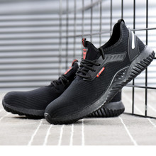 2019 New Couple Shoes Women Mens Safety Steel Toe Cap Work H