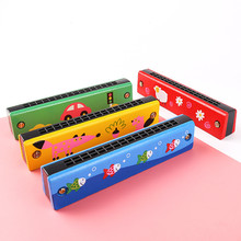 Harmonica Melodica for Children Toys Musical-Instruments 16-holes/Double-row/Blow/..
