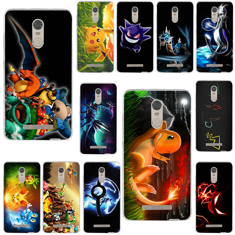 Weiche TPU Silicon Phone Cases für Xiao <font><b>mi</b></font> <font><b>mi</b></font> Hinweis 2 3 4 4C 4i 5 5S 5X6 6X8 9 SE <font><b>A1</b></font> A2 Lite Plus Pro Cartoon Anime Pokemons image
