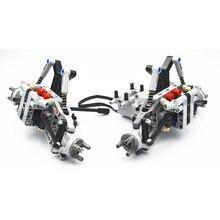 Детали конструктора moc technic детали для внедорожника передняя