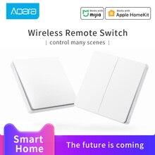 Aqara Wireless Switch ZigBee connection Aqara Hub gateway for xiaomi Smart Home Wireless Key light Switch work with Mi Home APP
