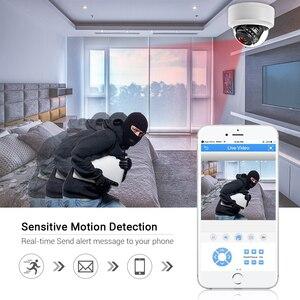 Image 4 - Hamrotte cámara IP de 5MP Onvif, micrófono interno con detección de movimiento, visión nocturna, domo interior, Web, Xmeye, acceso remoto, H.265