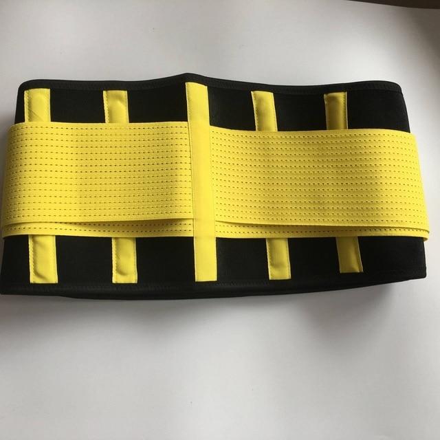 Waist Support Neoprene Waist Trimmer Exercise Belt Slimming Lumbar Protector Belts Sweat Loss Weight Belly Girdle For Men/Women 4