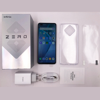 Infinix Zero 8 8GB 128GB Smart Phone New Global Version 6.85'' 90Hz Full Screen 64MP Quad Camera 4500mAh Battery 33W Charger 6