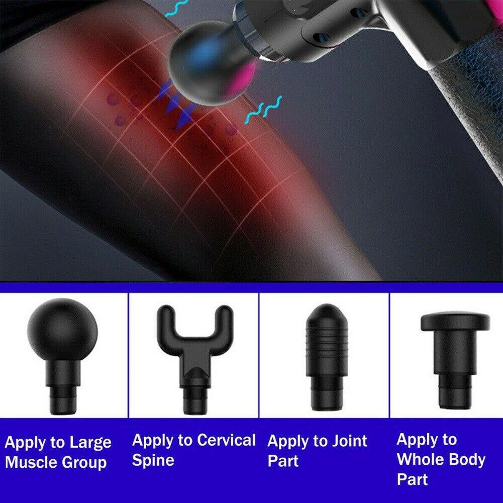 Elektrische Spier Ontspanning Massager Deep Tissue Massager Hand held Oefenen Spier Massager Fitness Equipmentping - 3