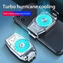 Портативный охлаждающий вентилятор игровой мобильный телефон кулер с питанием от USB радиатор для сотового телефона оснастки охлаждающий и...