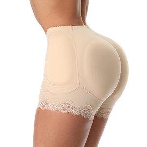 Image 1 - ZYSK Women Tummy Control Panties Fake Hip Padded Butt Lifter Panty Ass Underwear Shapewear Slimming Body Shaper Plus Size 6XL