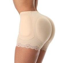 ZYSK femmes ventre contrôle culotte faux hanche rembourré bout à bout culotte cul sous vêtements Shapewear minceur corps Shaper grande taille 6XL