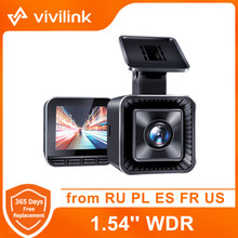 Vivilink v30 traço cam 2k mini carro dvr 1.5 wwwdr dashcam loop gravação de visão noturna carro cam gravador condução 24h estacionamento monitor